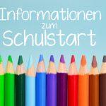 Informationen zur ersten Schulwoche